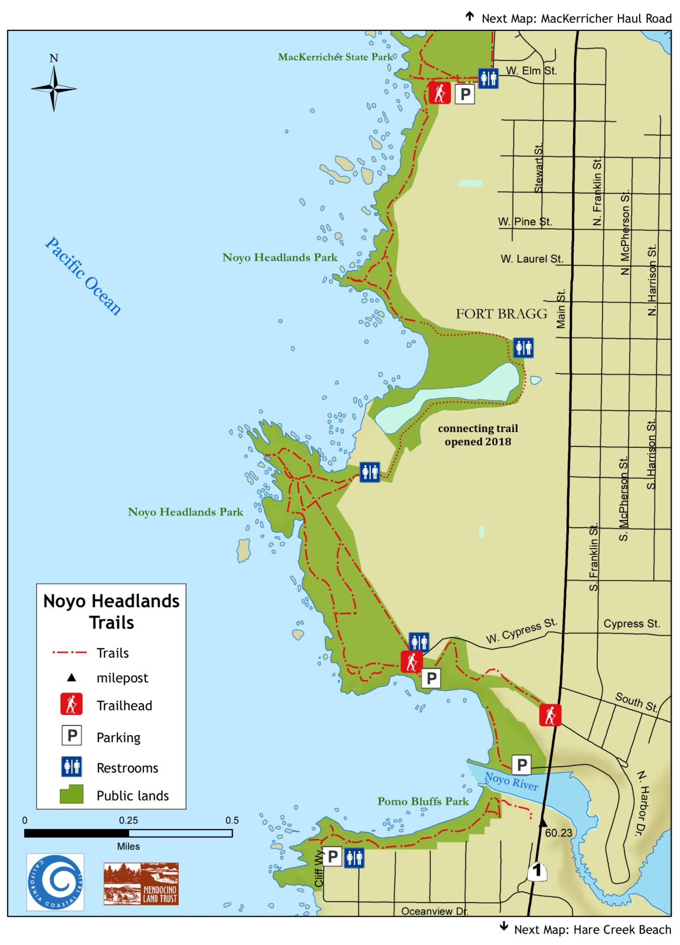 Noyo Headland Coastal Trail